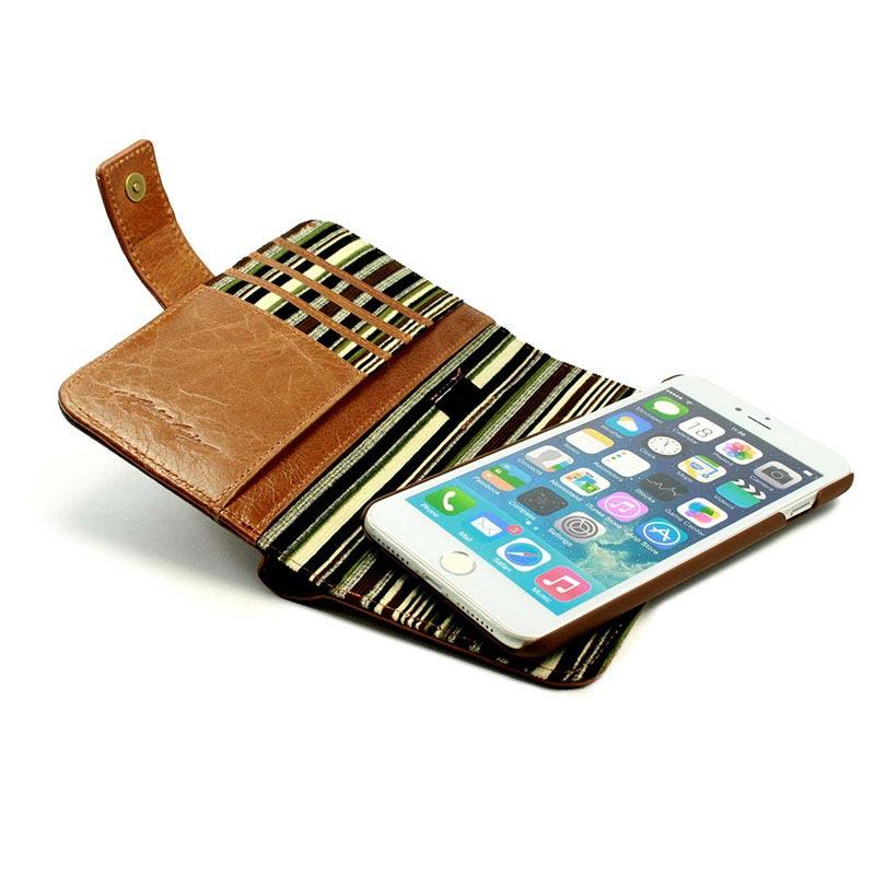 Iphone 7 cover med kortholder