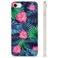 iPhone 7 / iPhone 8 TPU Cover - Tropiske Blomster
