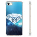 iPhone 7 / iPhone 8 Hybrid Cover - Diamant