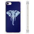 iPhone 7 / iPhone 8 Hybrid Cover - Elefant