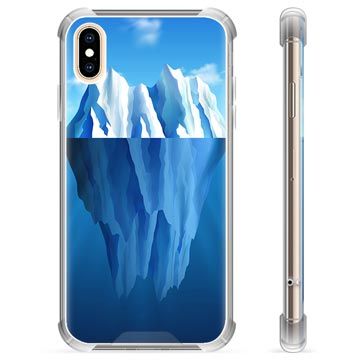 iPhone X / iPhone XS Hybrid Cover - Isbjerg