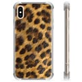iPhone X / iPhone XS Hybrid Cover - Leopard