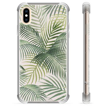 iPhone X / iPhone XS Hybrid Cover - Tropic