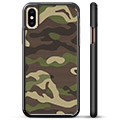 iPhone X / iPhone XS Beskyttende Cover - Camo