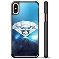 iPhone X / iPhone XS Beskyttende Cover - Diamant