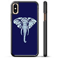 iPhone X / iPhone XS Beskyttende Cover - Elefant