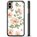 iPhone X / iPhone XS Beskyttende Cover - Floral