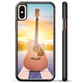 iPhone X / iPhone XS Beskyttende Cover - Guitar