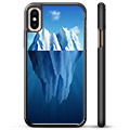 iPhone X / iPhone XS Beskyttende Cover - Isbjerg