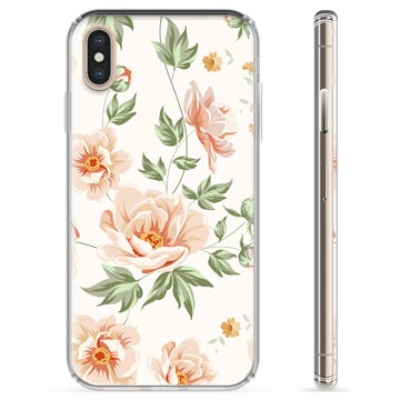 iPhone X / iPhone XS TPU Cover - Floral