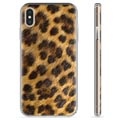 iPhone X / iPhone XS TPU Cover - Leopard