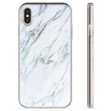 iPhone X / iPhone XS TPU Cover - Marmor