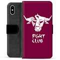iPhone X / iPhone XS Premium Flip Cover med Pung - Tyr