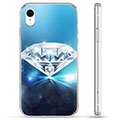 iPhone XR Hybrid Cover - Diamant