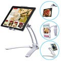 2-i-1 Multifunktionel Holder til Tablet - 125mm-190mm