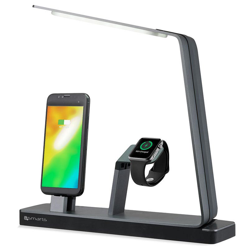 4smarts LoomiDock Docking Station & LED Lampe - Apple Watch, iPhone