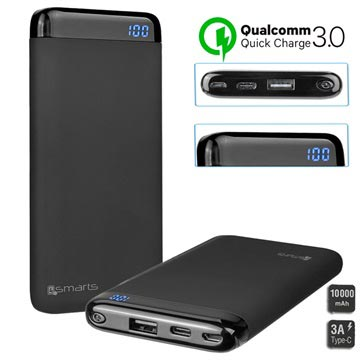 4smarts VoltHub Power Delivery & QC3.0 Power Bank - 10000mAh