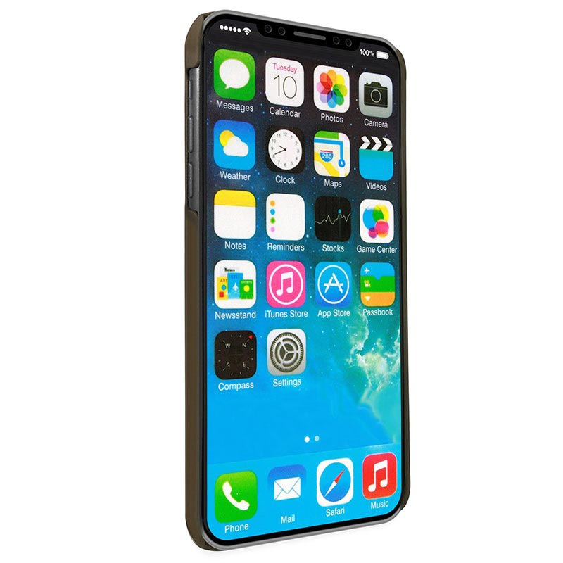 Alston Craig iPhone X / iPhone XS Magnetisk Læder Cover