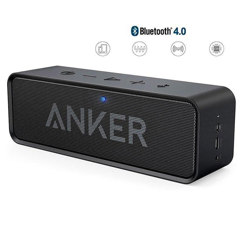 Tidssvarende Anker SoundCore Bluetooth-højtaler GA-08