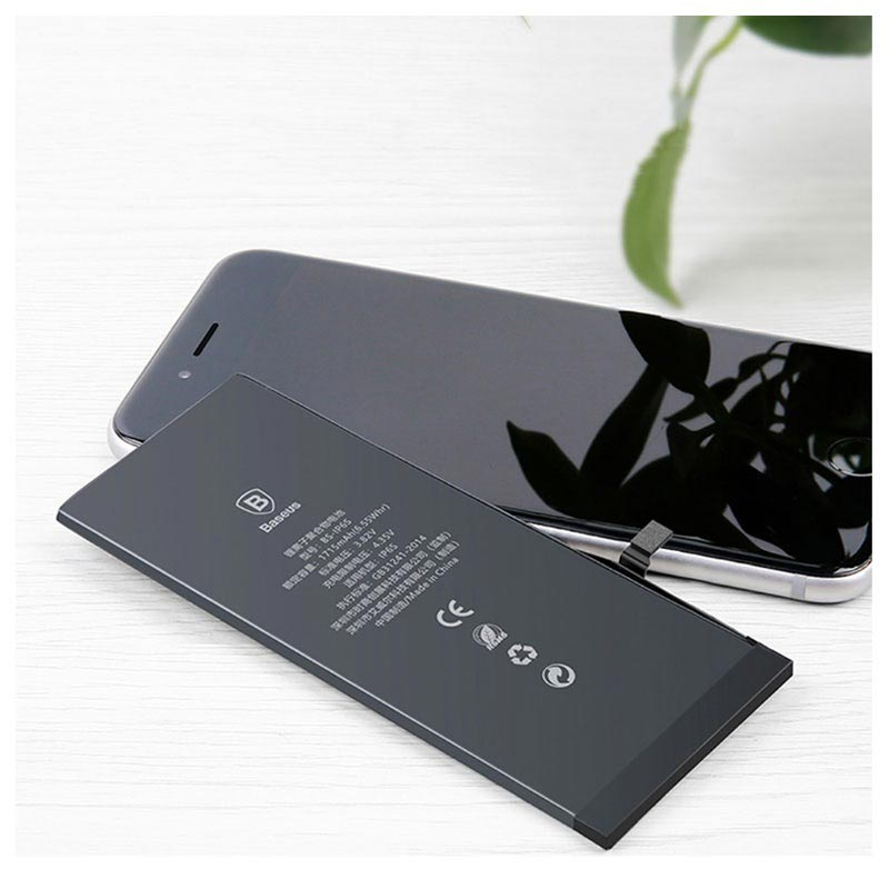 Højmoderne Baseus BS-IP6SP Høj Kapacitet iPhone 6S Plus Batteri - 3400mAh UT-77