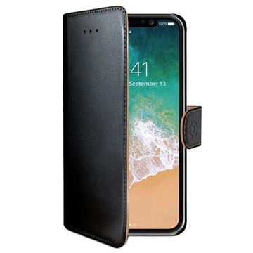 Celly Wally iPhone X / iPhone XS Pung med Stativfunktion
