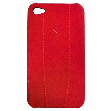 iPhone 4 / 4S Ferrari Modena Series Cover - Rød