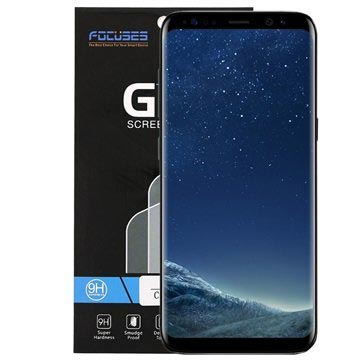 FocusesTech Curved Samsung Galaxy S8 Panserglas