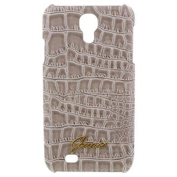Samsung Galaxy S4 I9500, I9505 Guess Croco Cover - Beige