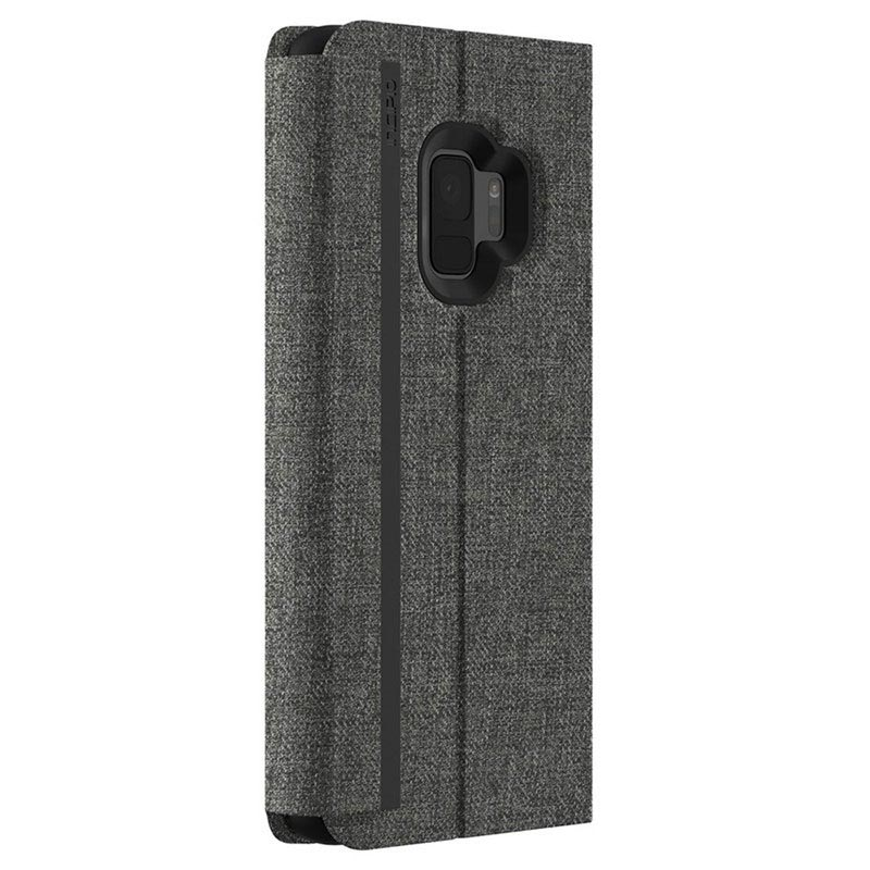 Incipio Carnaby Esquire Samsung Galaxy S9 Folio Cover - Grå