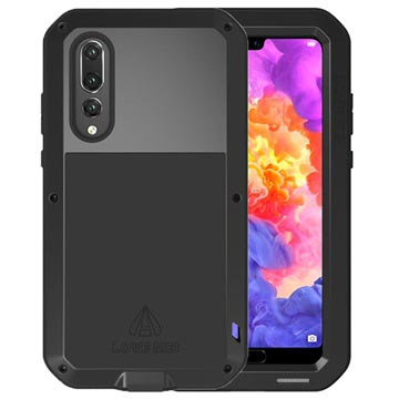 Love Mei Powerful Series Huawei P20 Pro Hybrid Cover - Sort