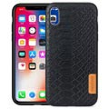 Meleovo Pattern Series iPhone XR Hybrid Cover - Python