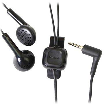 Nokia HS-105 (WH-101) Stereo Headset - Sort b097124cdf