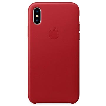 iPhone X Apple Læder Cover MQTE2ZM/A