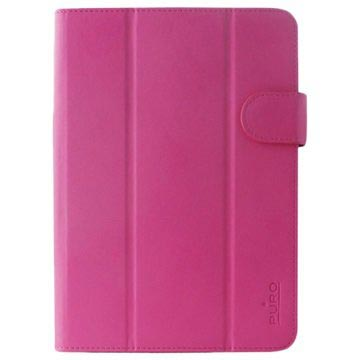 "Puro Book Easy Universal Tablet Taske - 8"" - Pink"