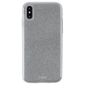 Puro Shine Glitter iPhone XS Max TPU Cover
