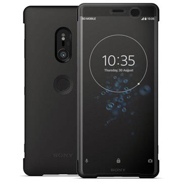 Sony Xperia XZ3 Style Cover Touch SCTH70 - Sort