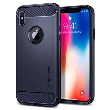 Spigen Rugged Armor iPhone X / iPhone XS Cover