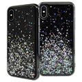 SwitchEasy Starfield iPhone XS Max Hybrid Cover - Sort