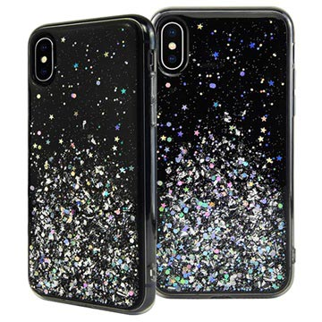 SwitchEasy Starfield iPhone XS Max Hybrid Cover