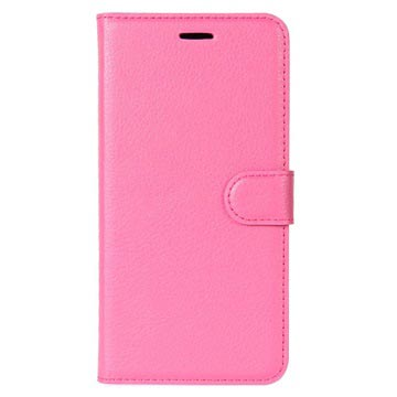 Huawei P9 Lite Mini, Y6 Pro (2017) Textured Pung - Hot Pink