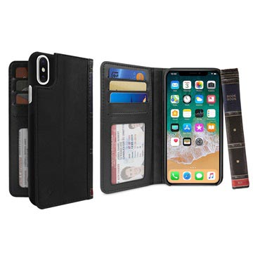 Twelve South BookBook iPhone X / iPhone XS Læder Etui med Pung