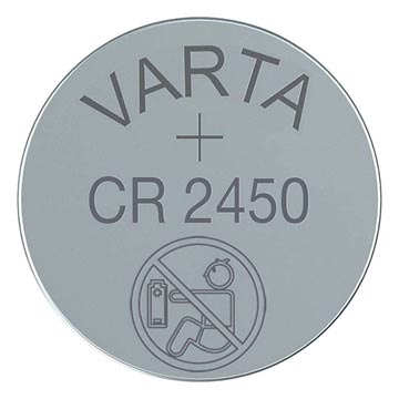 8f1f6e88dd2 Varta CR2450/6450 Lithium Knapcelle Batteri 6450101401 - 3V