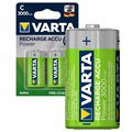 Varta Power Ready2Use Genopladelige C/HR14 Batterier - 3000mAh - 1x2