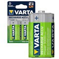 Varta Power Ready2Use Genopladelige D/HR20 Batterier - 3000mAh - 1x2