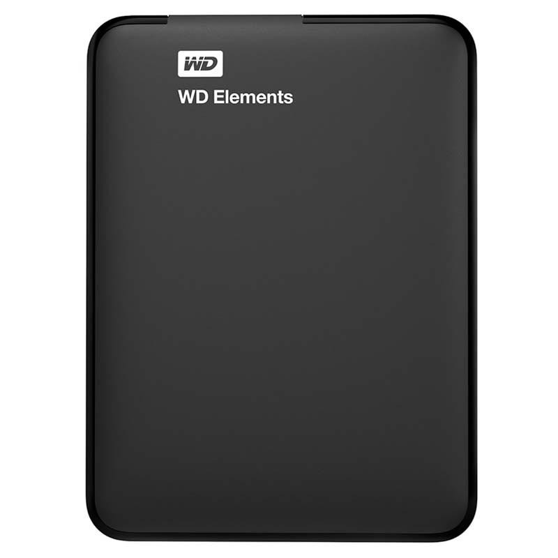 Western Digital WDBUZG0010BBK-WESN WD Elements External HDD - 1TB - Sort