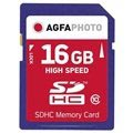 AgfaPhoto High Speed SDHC Card 10426 - Class 10 - 16GB