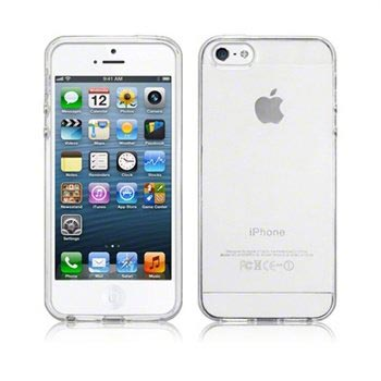 iPhone 5 / 5S / SE Silikone Cover - Frost Hvid